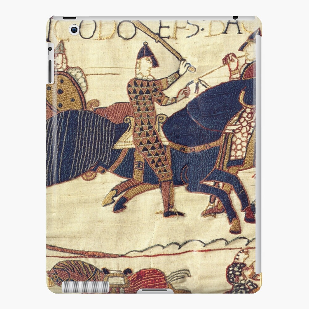 Bayeux Tapestry. Depicting Odo, Bishop, Rallying Troops During The Battle Of Hastings (View 7 of 20)