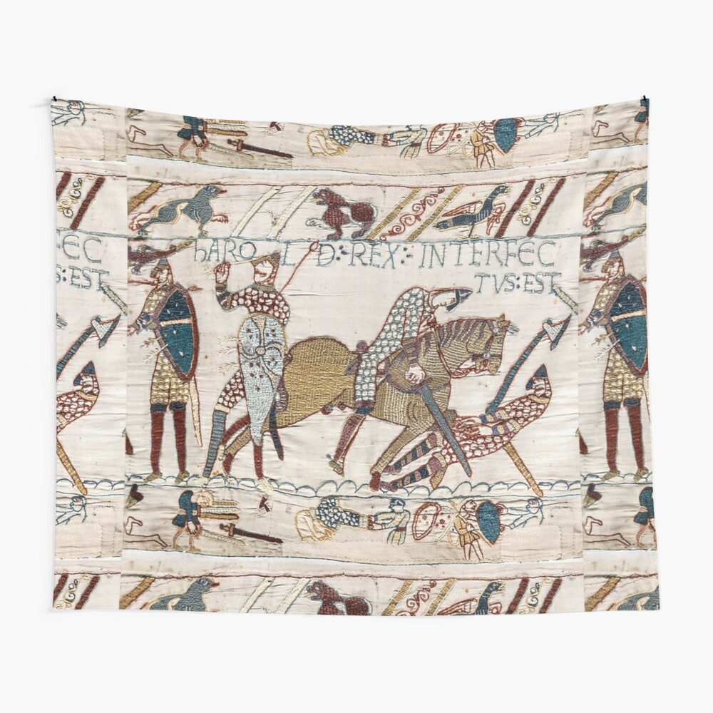 Bayeux Tapestry. King Harold Is Killed (View 4 of 20)