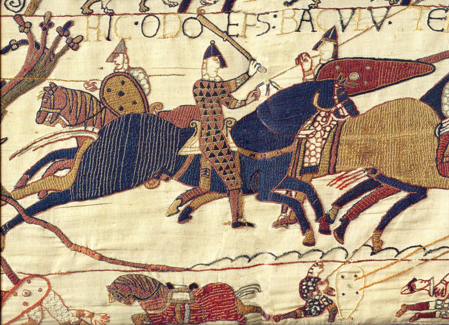 Bayeux Tapestry – Wikipedia Inside Most Current Birds Face To Face I European Tapestries (View 6 of 20)