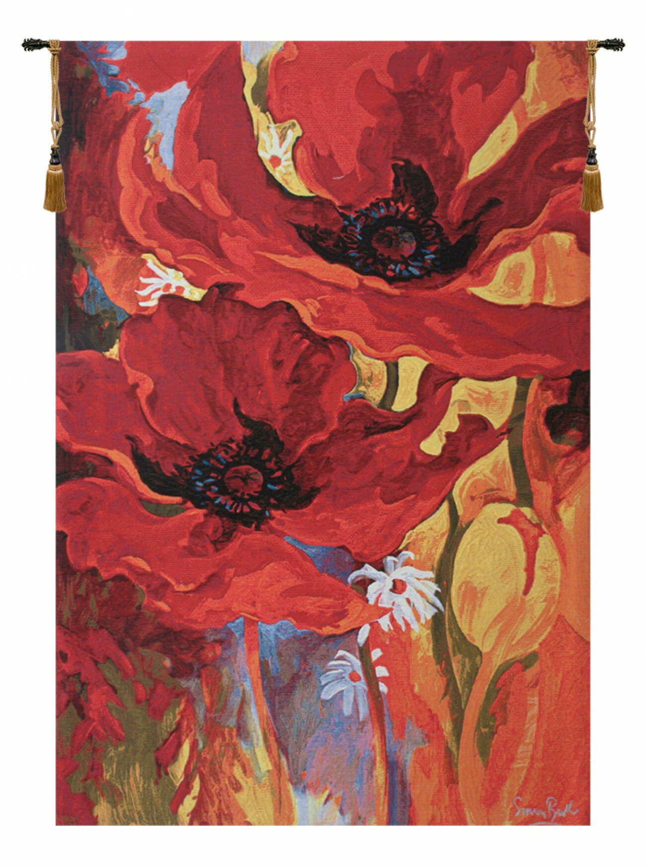 Belgian Bright New Day Tapestry Intended For Recent Blended Fabric Ethereal Days Chinoiserie Wall Hangings With Rod (View 16 of 20)