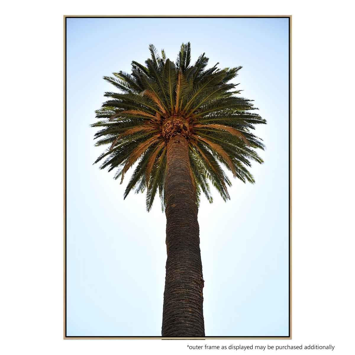 Big Palm Tree – Print Inside 2017 Blended Fabric Palm Tree Wall Hangings (View 16 of 20)