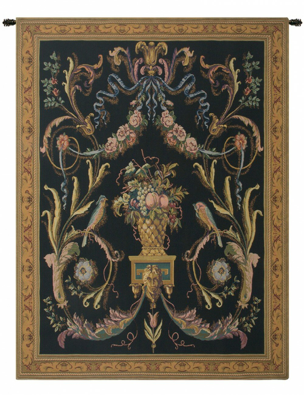 Birds Tapestry With Regard To Most Recent Blended Fabric Havenwood Chinoiserie Tapestries Rod Included (View 7 of 20)