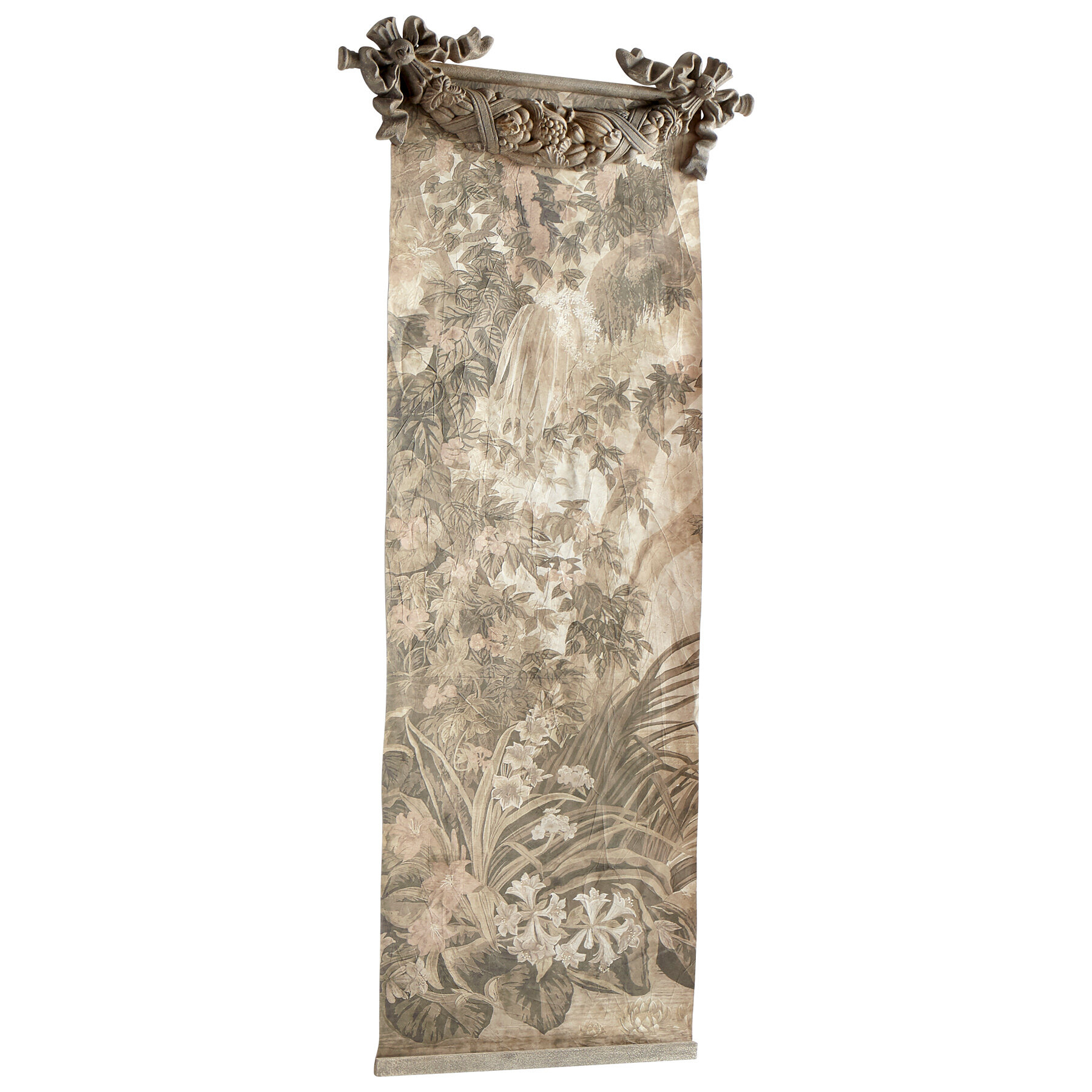 Featured Photo of Blended Fabric Havenwood Chinoiserie Tapestries Rod Included