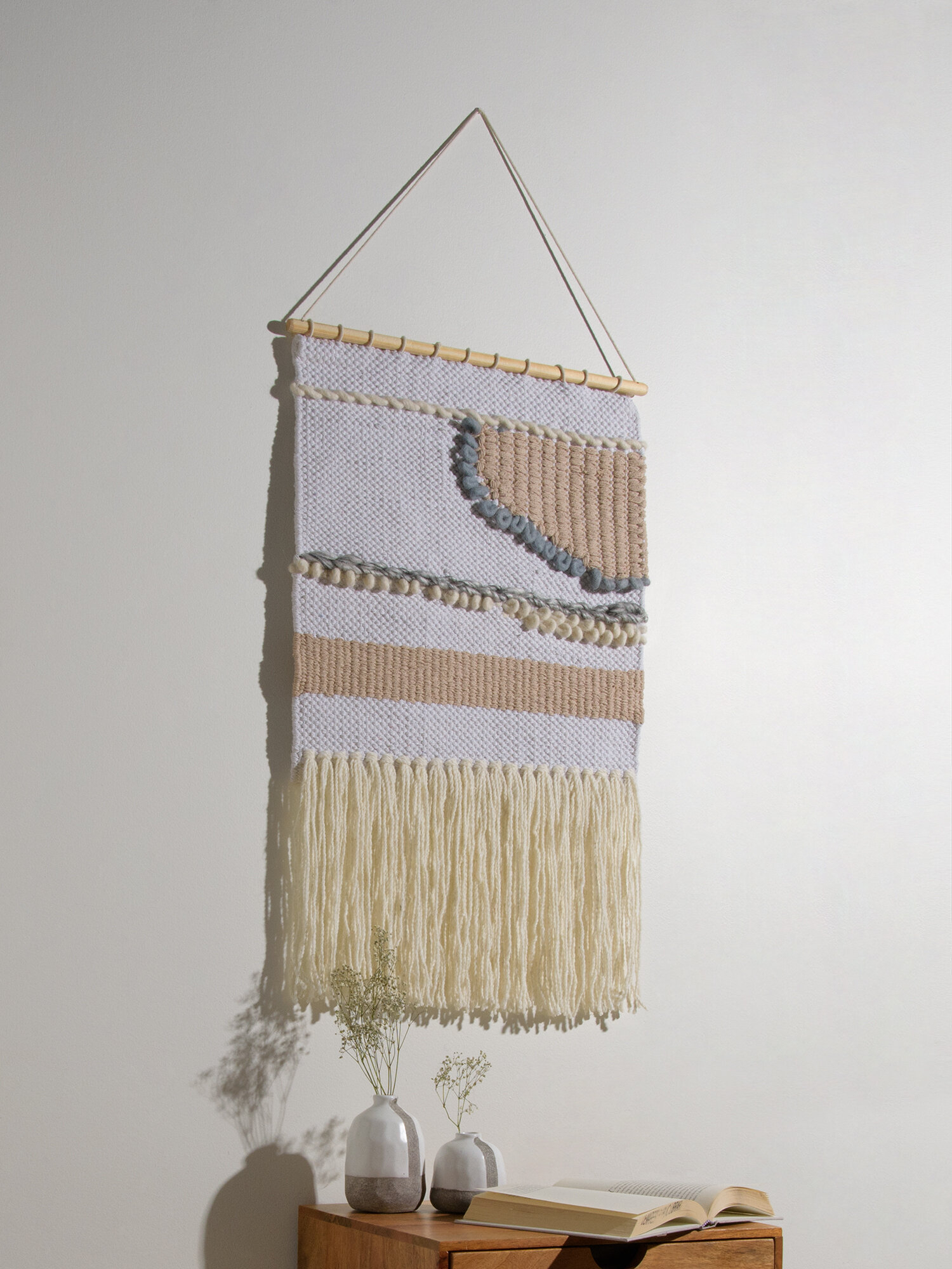 Blended Fabric Wall Hanging With Hanging Accessories Included Pertaining To 2018 Blended Fabric Wall Hangings (View 6 of 20)