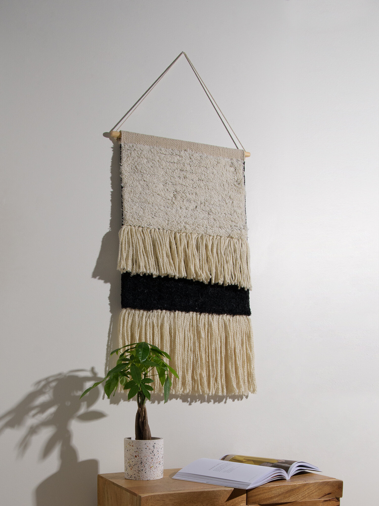 Blended Fabric Wall Hanging With Hanging Accessories Included Regarding Most Current Blended Fabric Wall Hangings (View 10 of 20)
