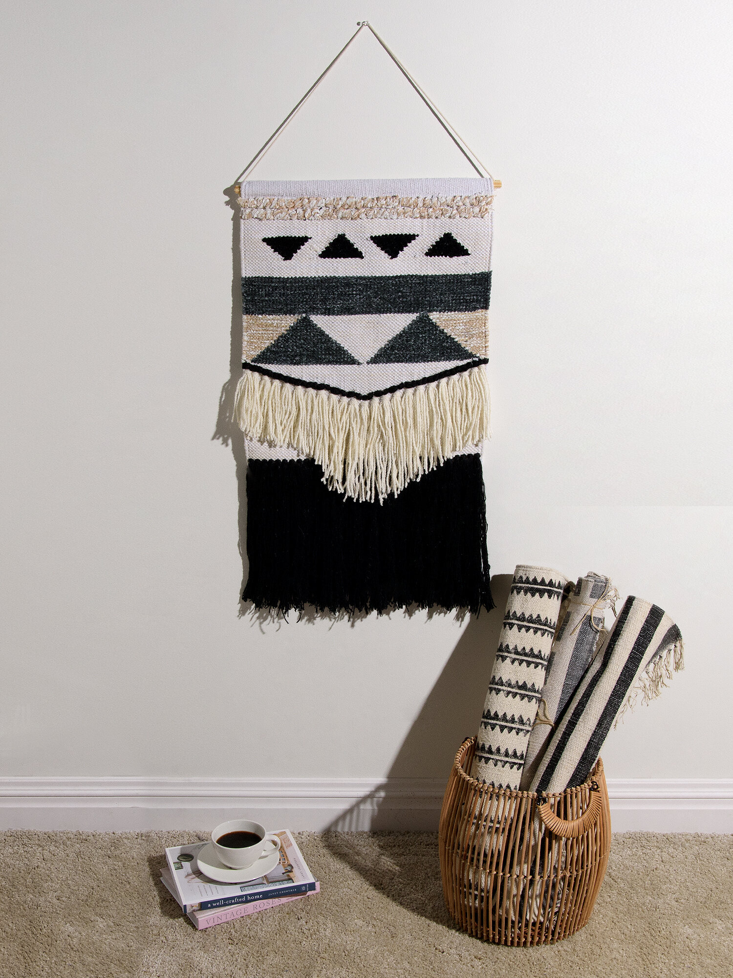 Blended Fabric Wall Hanging With Hanging Accessories Included With Most Recently Released Blended Fabric Wall Hangings (View 15 of 20)