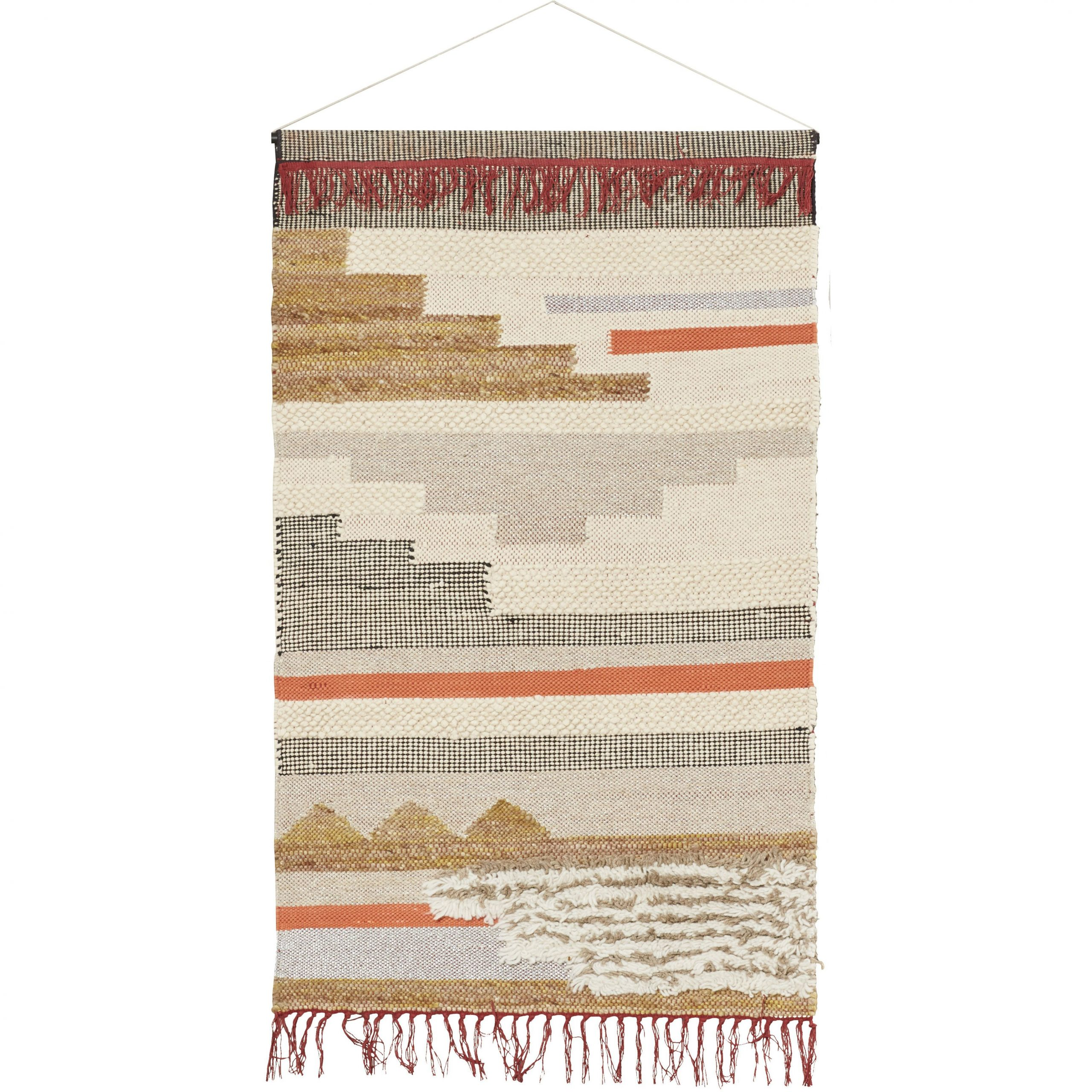 Blended Fabric Wall Hanging With Hanging Accessories Throughout Current Blended Fabric Wall Hangings (View 5 of 20)