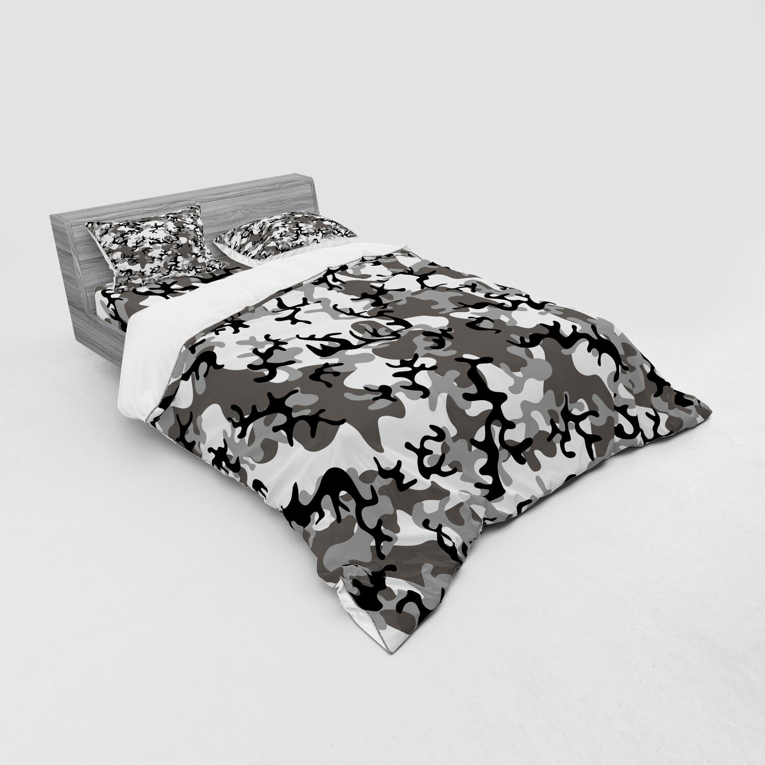 Camo Camouflage Concept Concealment Artifice Hiding Force Uniform Fashion Duvet Cover Set Within Most Up To Date Blended Fabric Artifice Ii Wall Hangings (View 12 of 20)