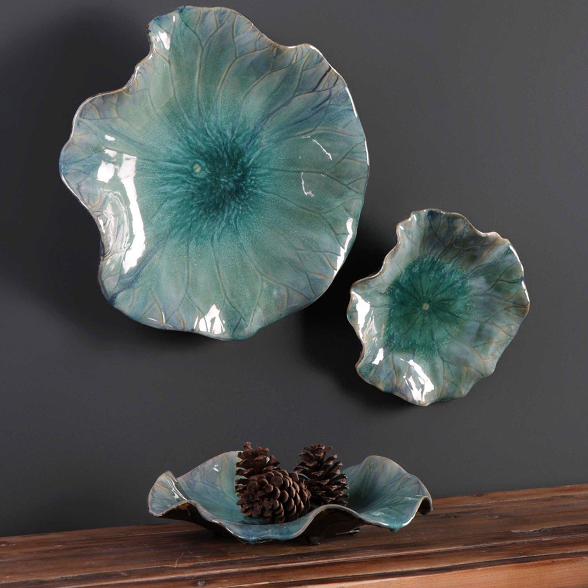 Ceramic Flower Wall Art – Ideas On Foter Within Most Current Blended Fabric Italian Wall Hangings (View 17 of 20)