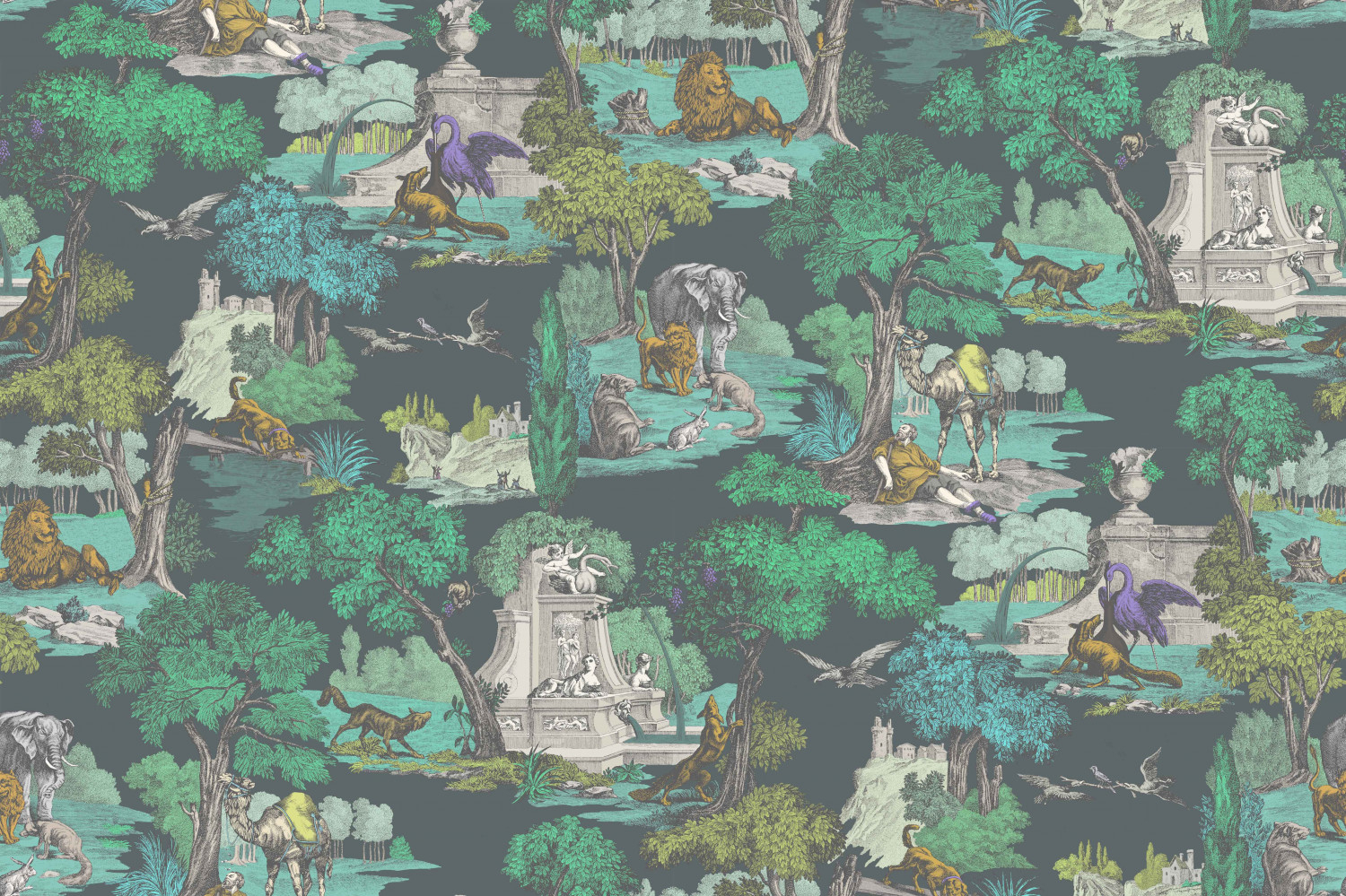 Cole & Son – Versailles – F111/6022 With Most Recently Released Blended Fabric Artifice Ii Wall Hangings (View 13 of 20)