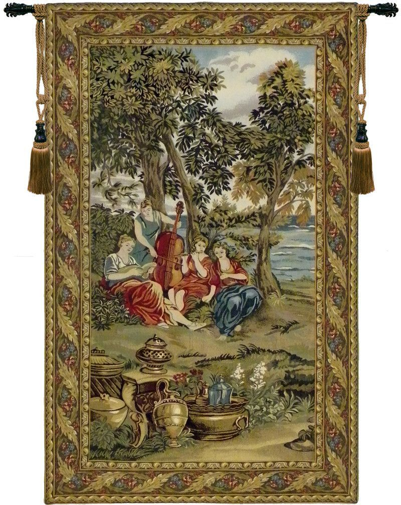 Concerto Tapestry Wall Hanging   Tapestry Wall Hanging Inside Most Popular Grandes Armoiries I European Tapestries (View 5 of 20)
