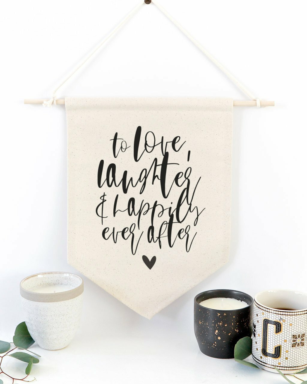 Cotton Wedding Wall Hanging Pertaining To 2018 Blended Fabric Faraway Longing Wall Hangings (View 4 of 20)