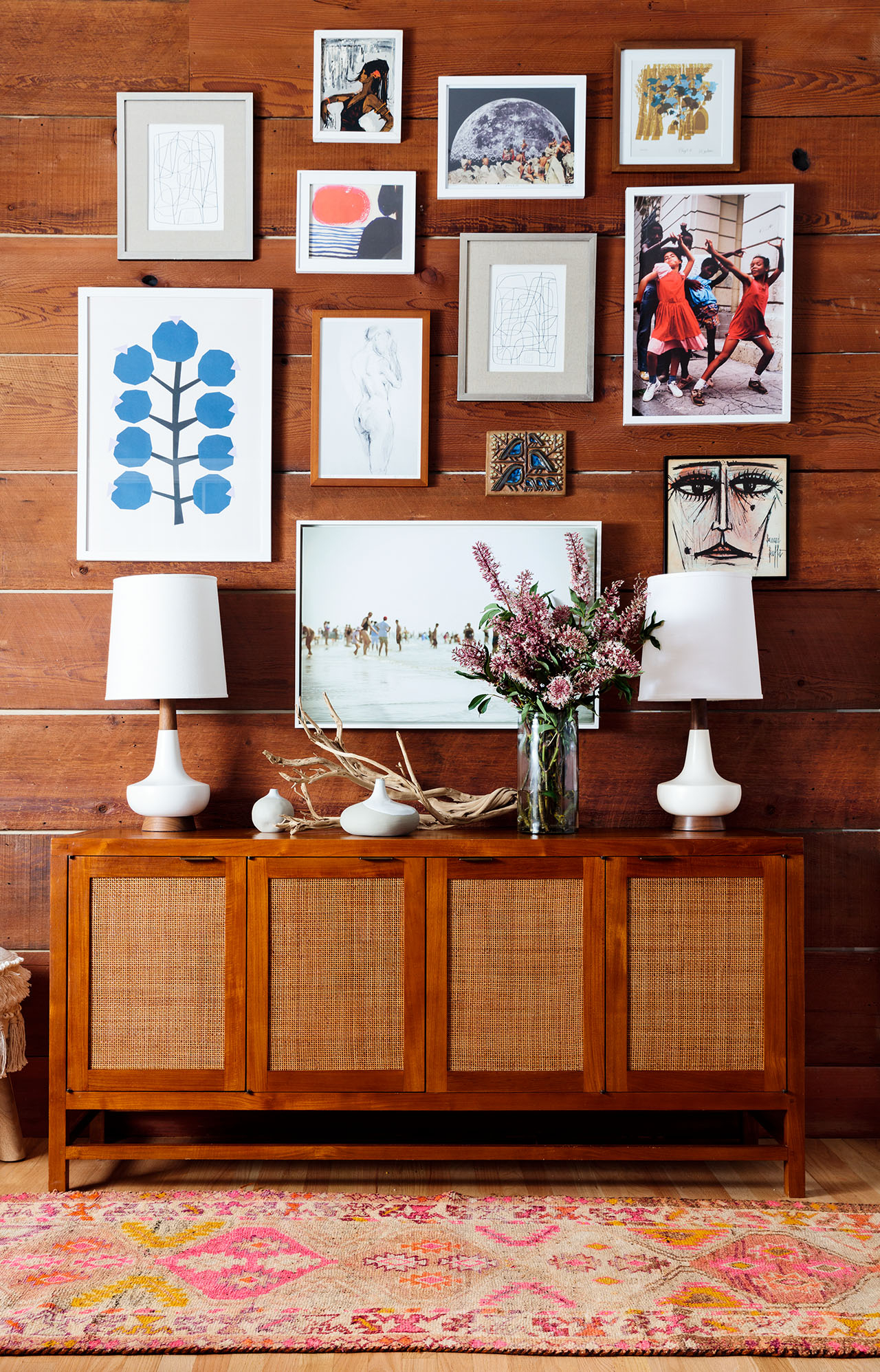 Creative Wall Art Ideas For Every Blank Spot In Your Home For Current Blended Fabric Hello Beauty Full Wall Hangings (View 12 of 20)