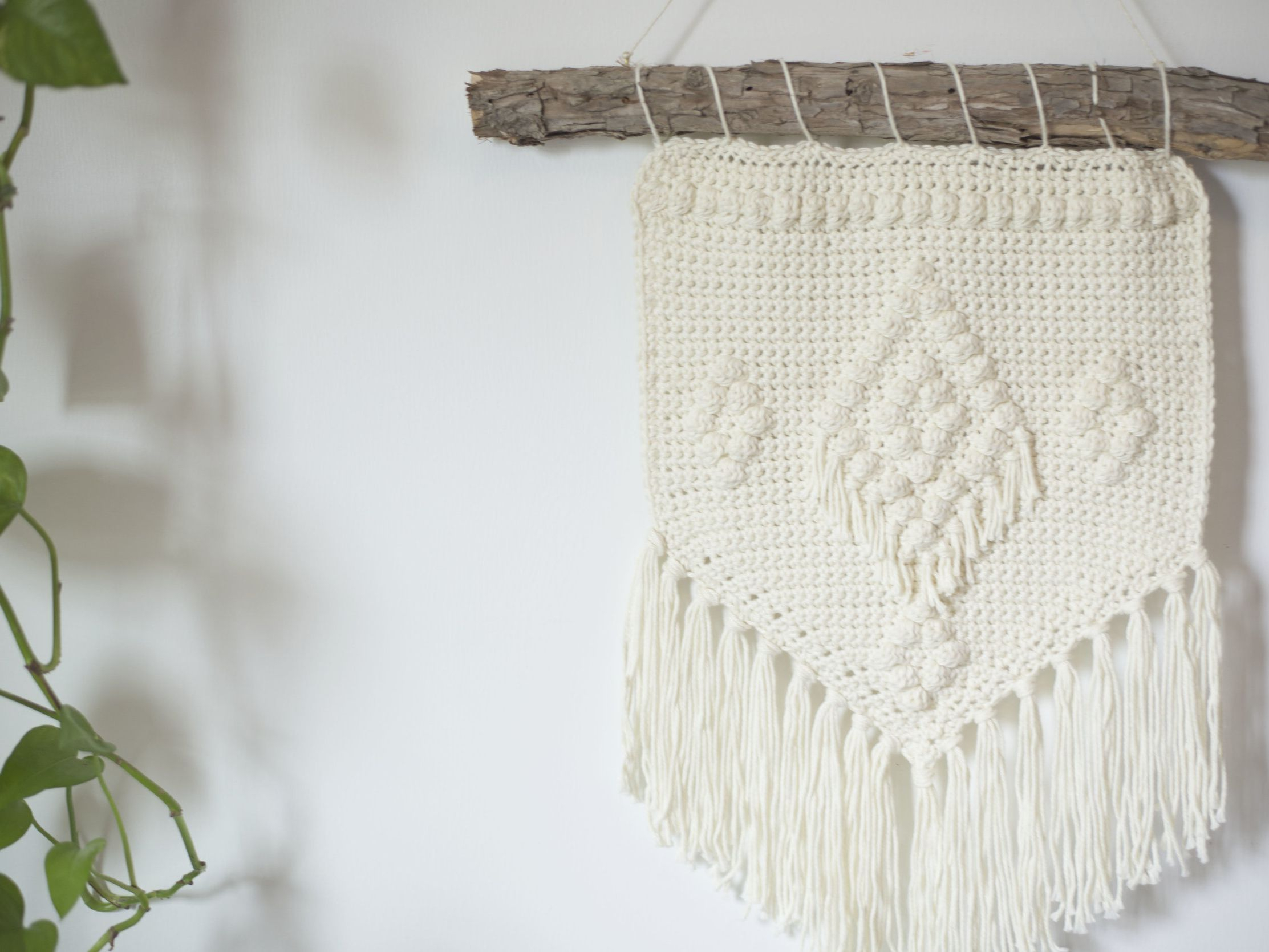 Crochet Wall Hanging Patterns To Try Today Throughout Recent Blended Fabric Wall Hangings With Rod Included (View 18 of 20)