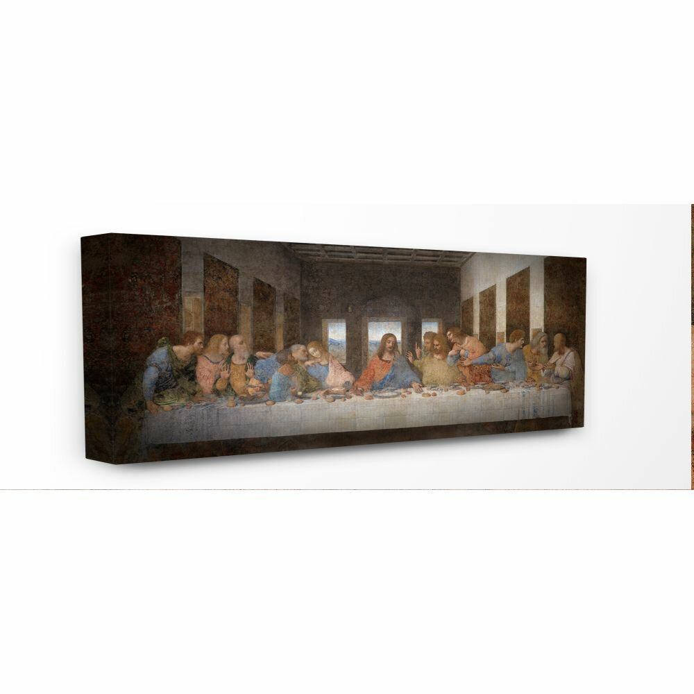 'da Vinci The Last Supper Religious Classical'leonardo Da Vinci  Painting Print For Recent Blended Fabric Leonardo Davinci The Last Supper Wall Hangings (View 17 of 20)