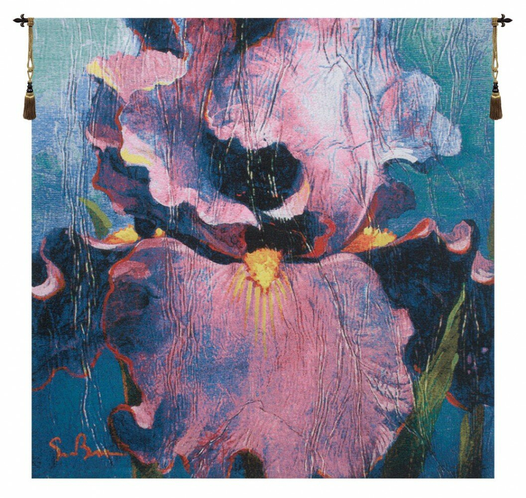 Dancersimon Bull Tapestry For Most Recent Blended Fabric Irises Tapestries (View 16 of 20)
