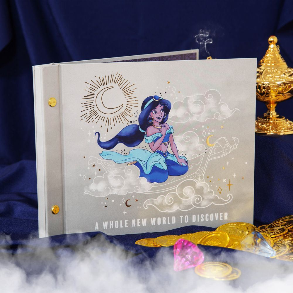 """Details About Disney Aladdin Photo Album 7"""" X 5"""" – Jasmine Inside Most Up To Date Blended Fabric Aladin European Wall Hangings (View 6 of 20)"""