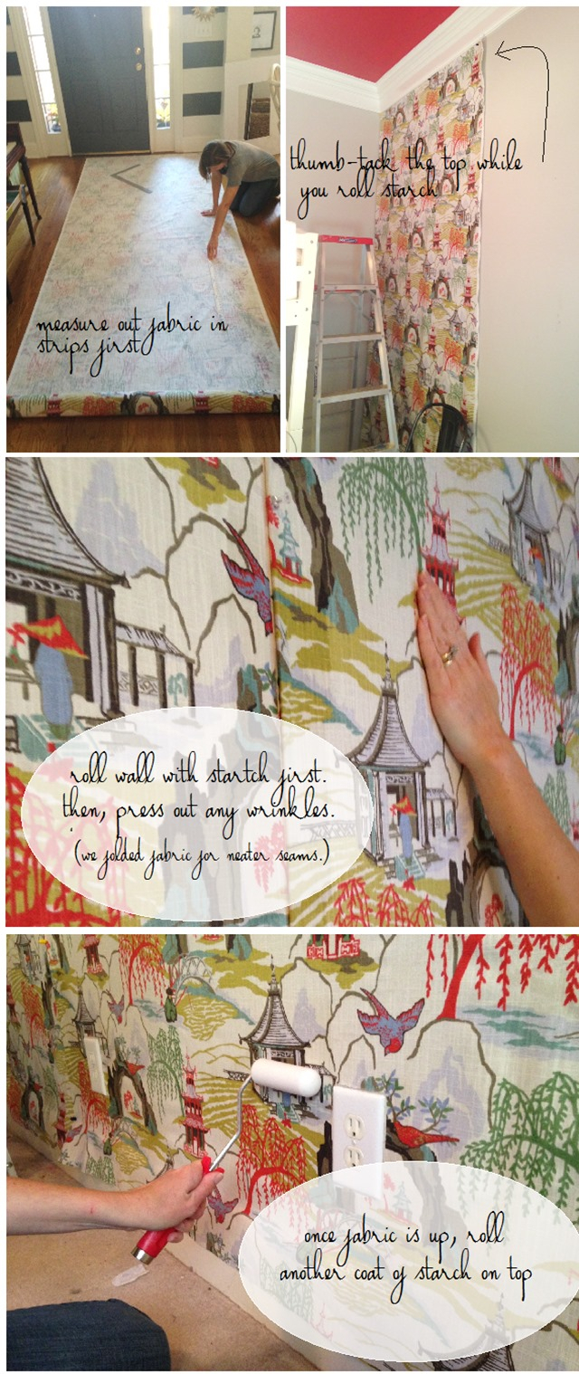 Diy Fabric Wall In The Girls' Bedroom – Emily A (View 18 of 20)