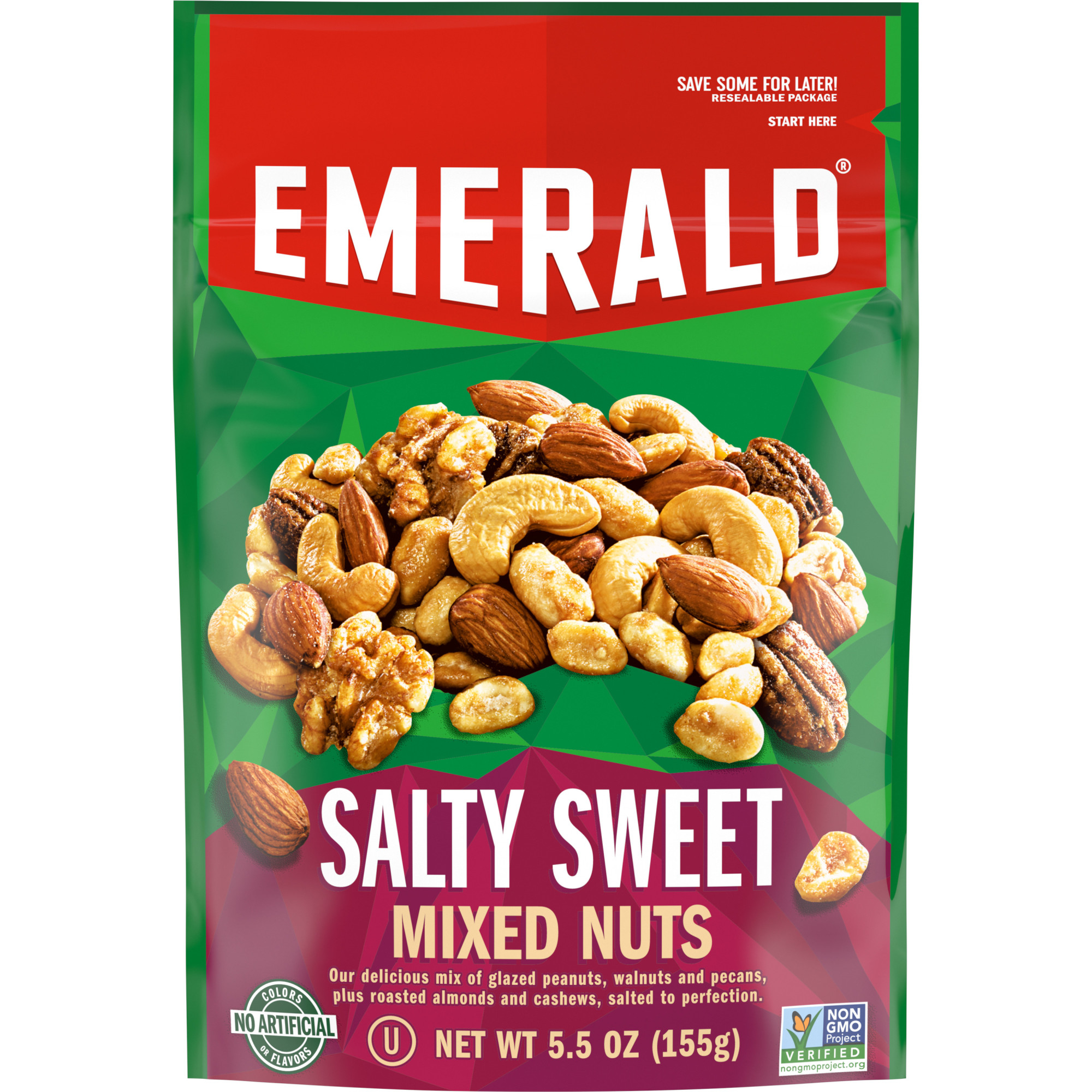 Emerald Nuts, Salty Sweet Mixed Nuts, (View 17 of 20)