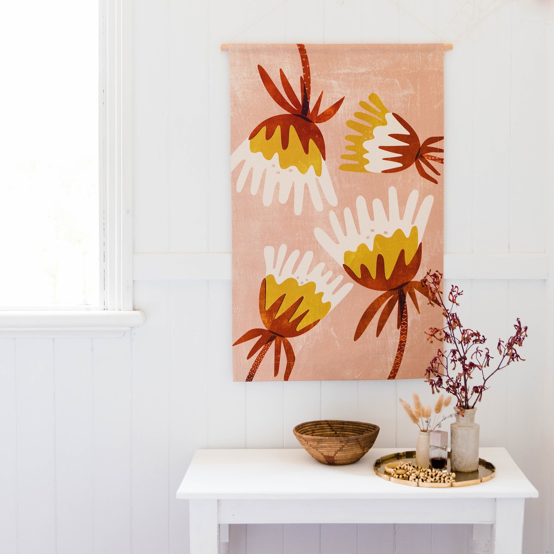 Fabric Wall Hangings Trend & Where To Shop It – Tlc Interiors Within 2017 Blended Fabric Poppy Red Wall Hangings (View 6 of 20)