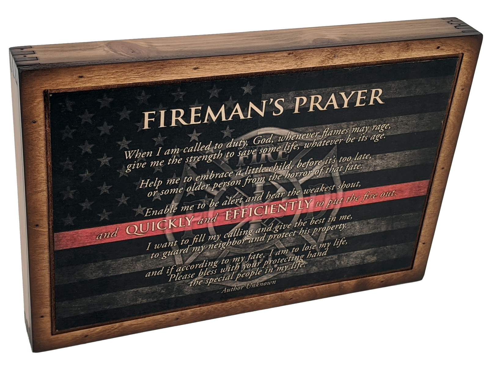 Firefighter Prayer – Wall Art Intended For Most Recently Released A Fireman Prayer Wall Hangings (View 5 of 20)
