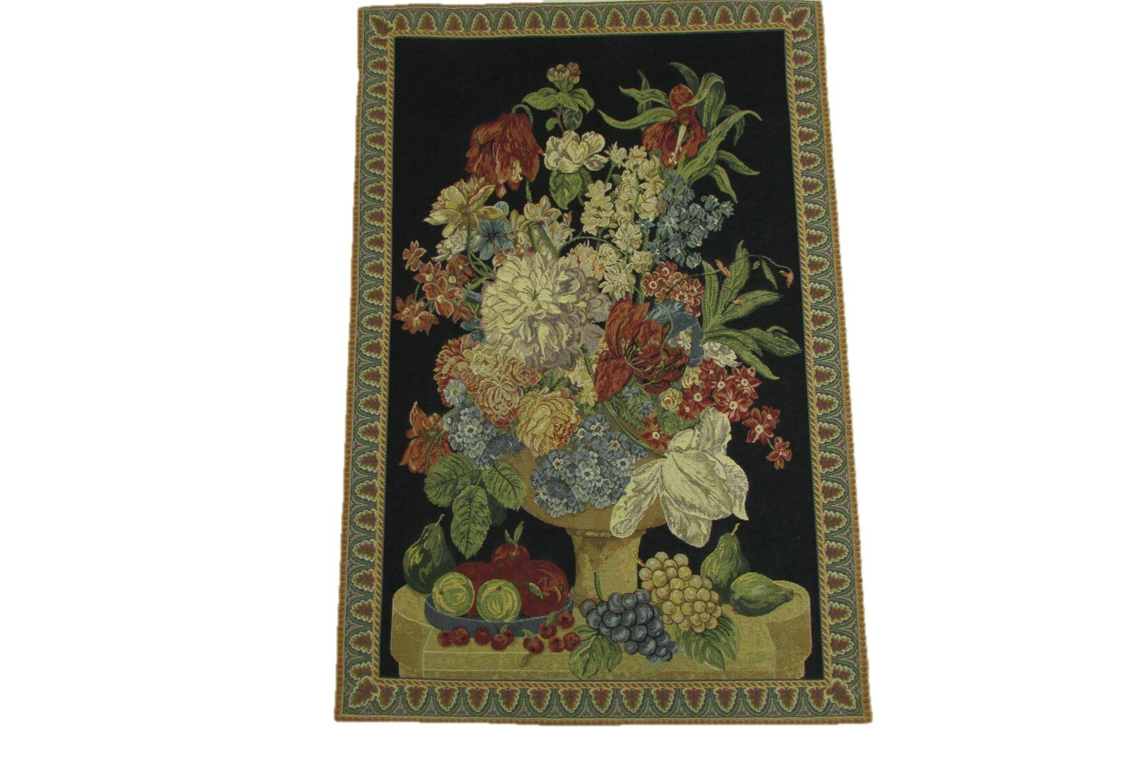 Fruits With Flowers Tapestry Within Most Up To Date Blended Fabric Fruity Bouquets Wall Hangings (View 4 of 20)