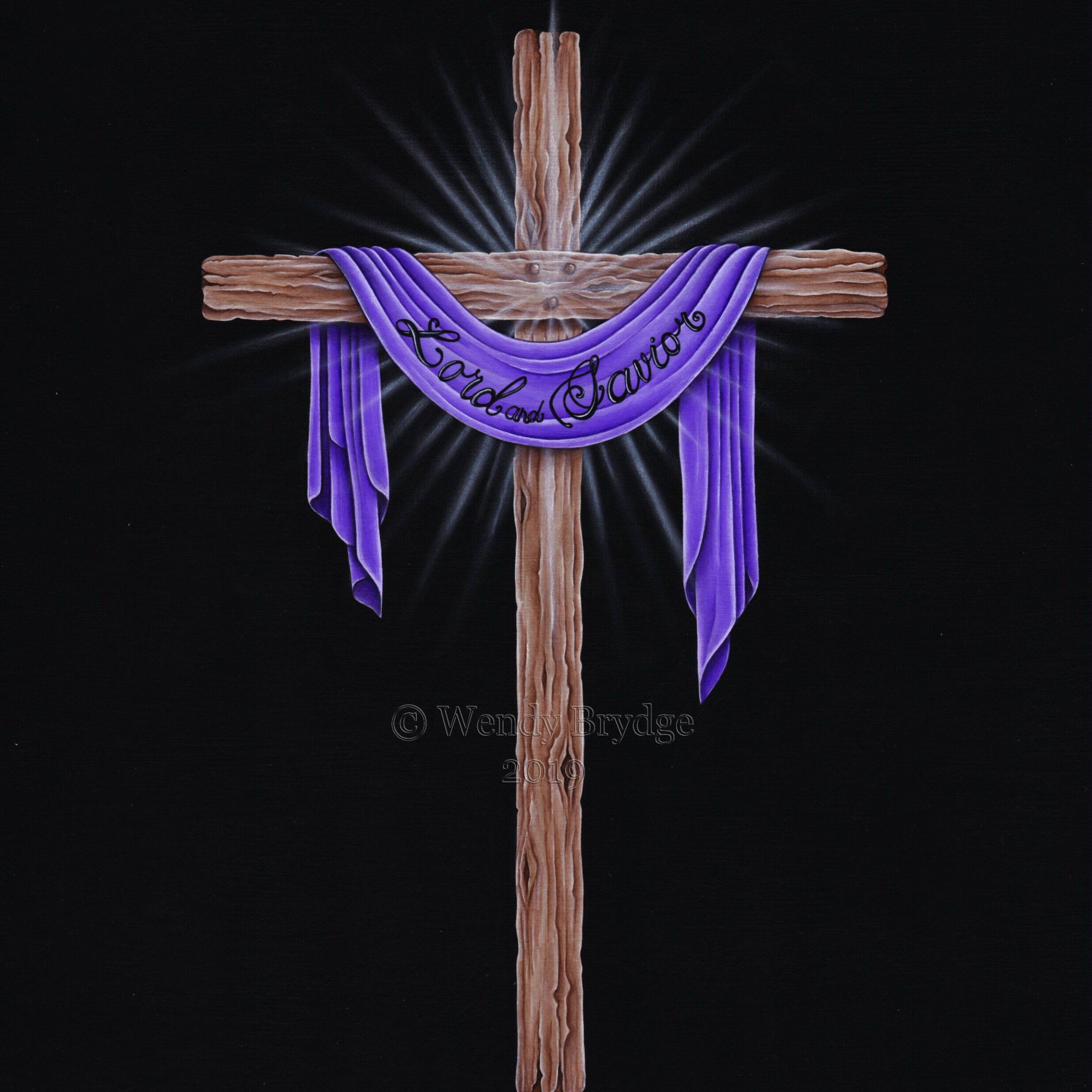 Gallery Feature: Lenten Cross | Seeker Of Truth Within Best And Newest Blended Fabric Old Rugged Cross Wall Hangings (View 3 of 20)