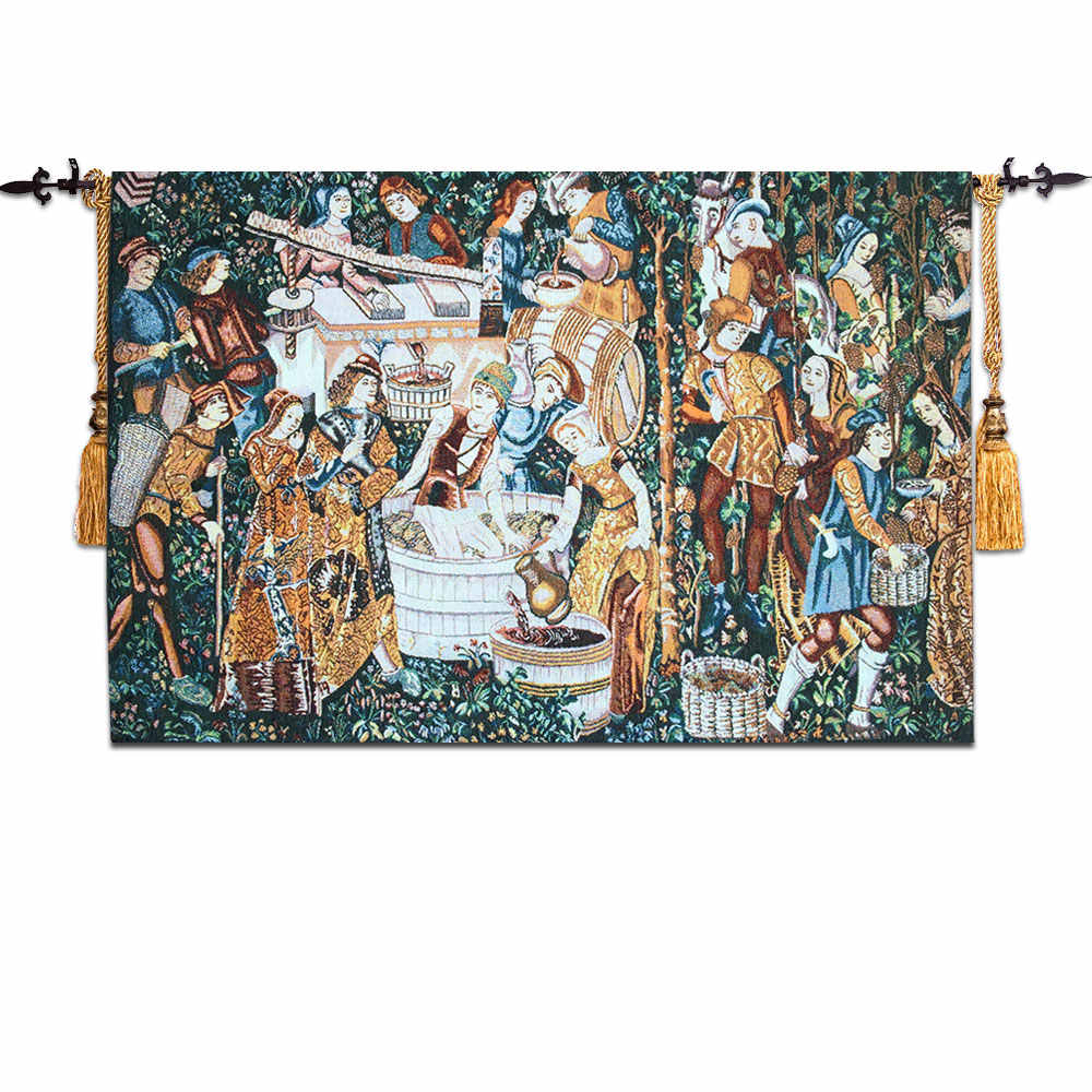 Gobelins Cloth Art Tapestries European Tapestry Painting Inside 2017 Lion I European Tapestries (View 17 of 20)