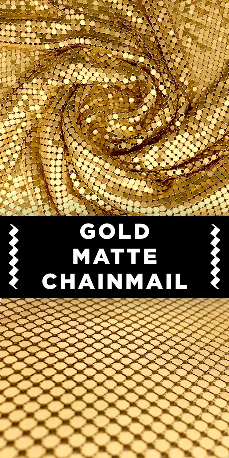 Gold Matte Chainmail Fabric #metallic #elegant #fashion Within Most Recent Blended Fabric Amazing Grace Wall Hangings (View 16 of 20)