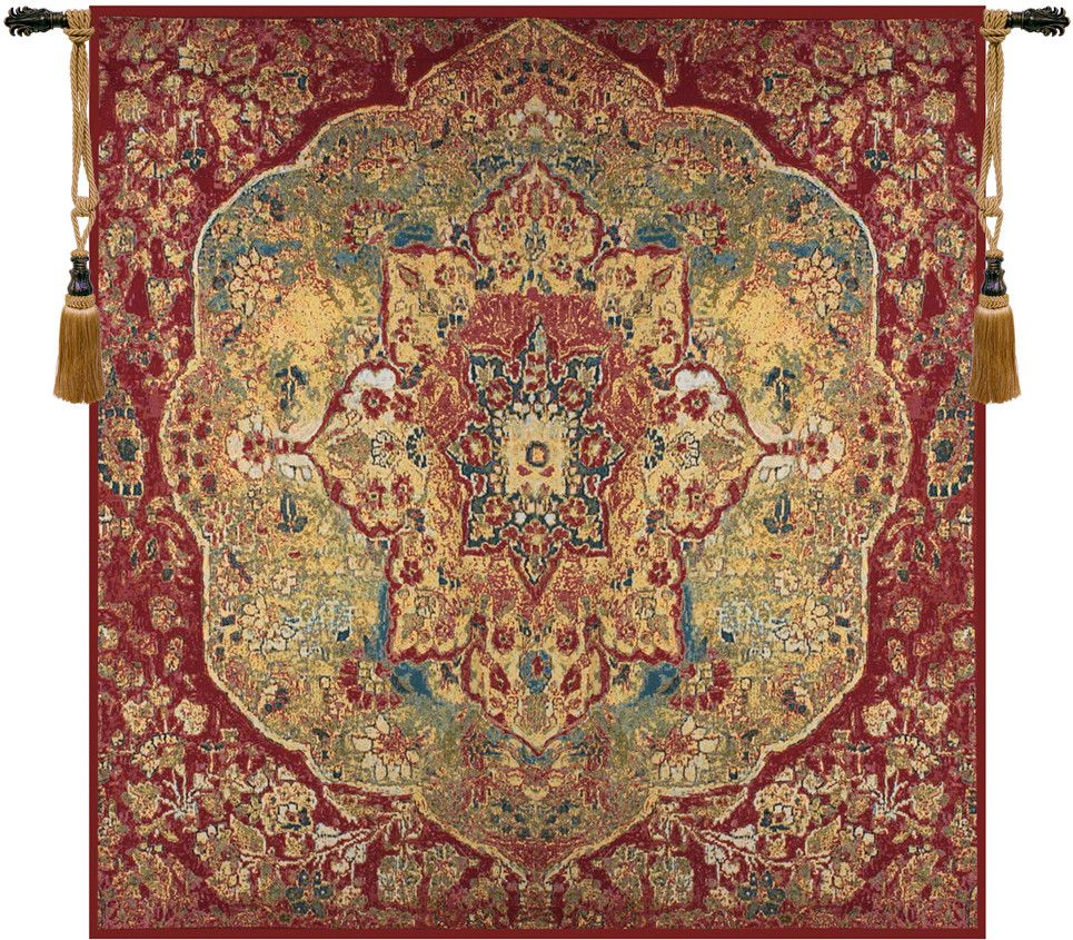 Grand Bazaar Decorative Wall Hanging – Wall Tapestry Regarding Latest Blended Fabric Ethereal Days Chinoiserie Wall Hangings With Rod (View 3 of 20)