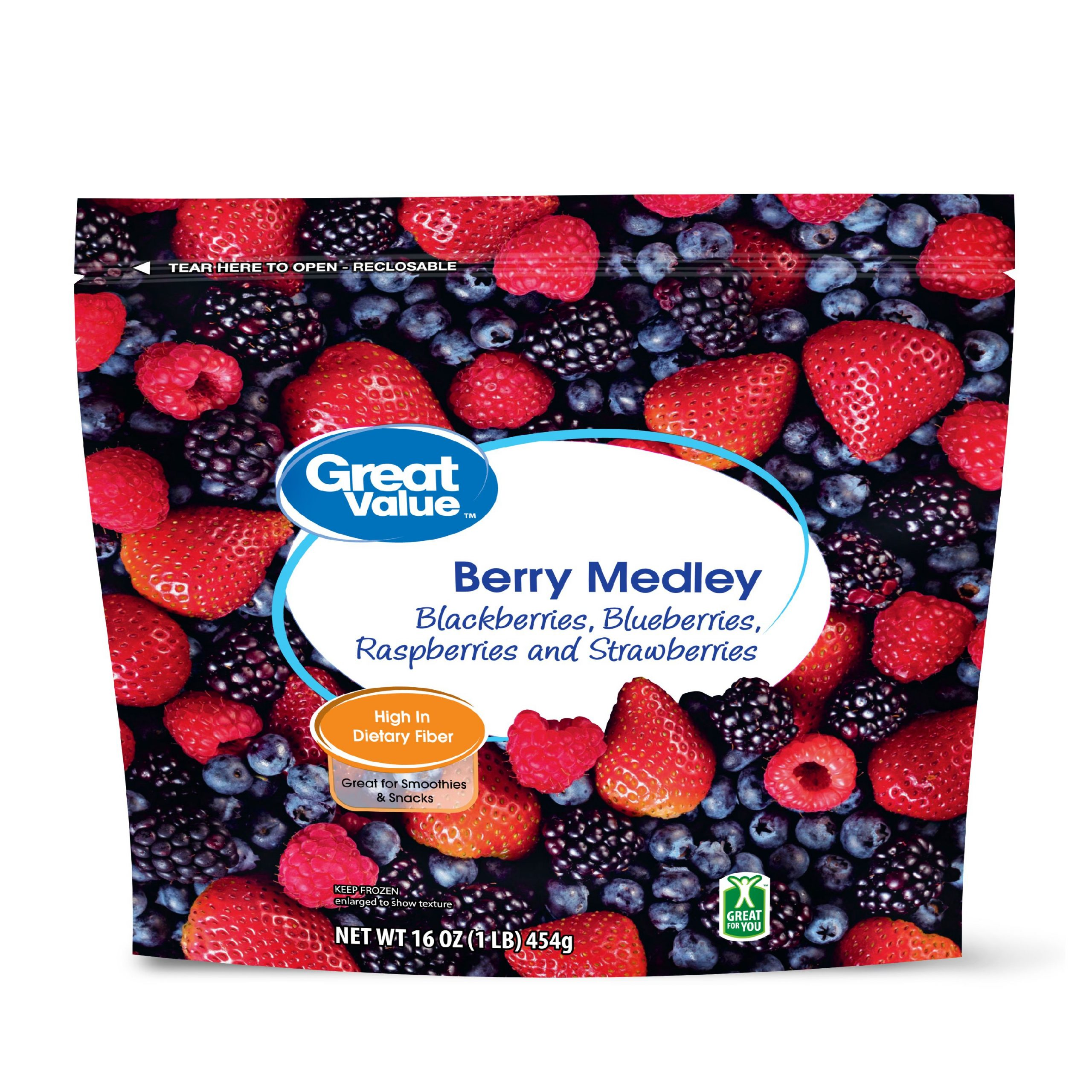 Great Value Frozen Whole Berry Medley, 16 Oz – Walmart Regarding Current Blended Fabric Fruity Bouquets Wall Hangings (View 16 of 20)