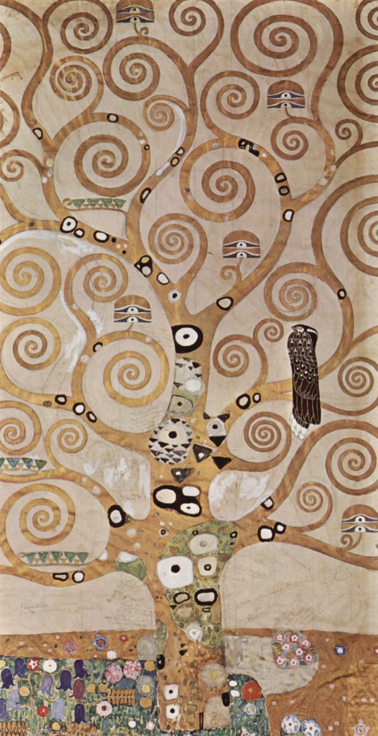 Gustav Klimt Photocolorofrock | Photobucket | Gustav For Most Current Blended Fabric Klimt Tree Of Life Wall Hangings (View 9 of 20)