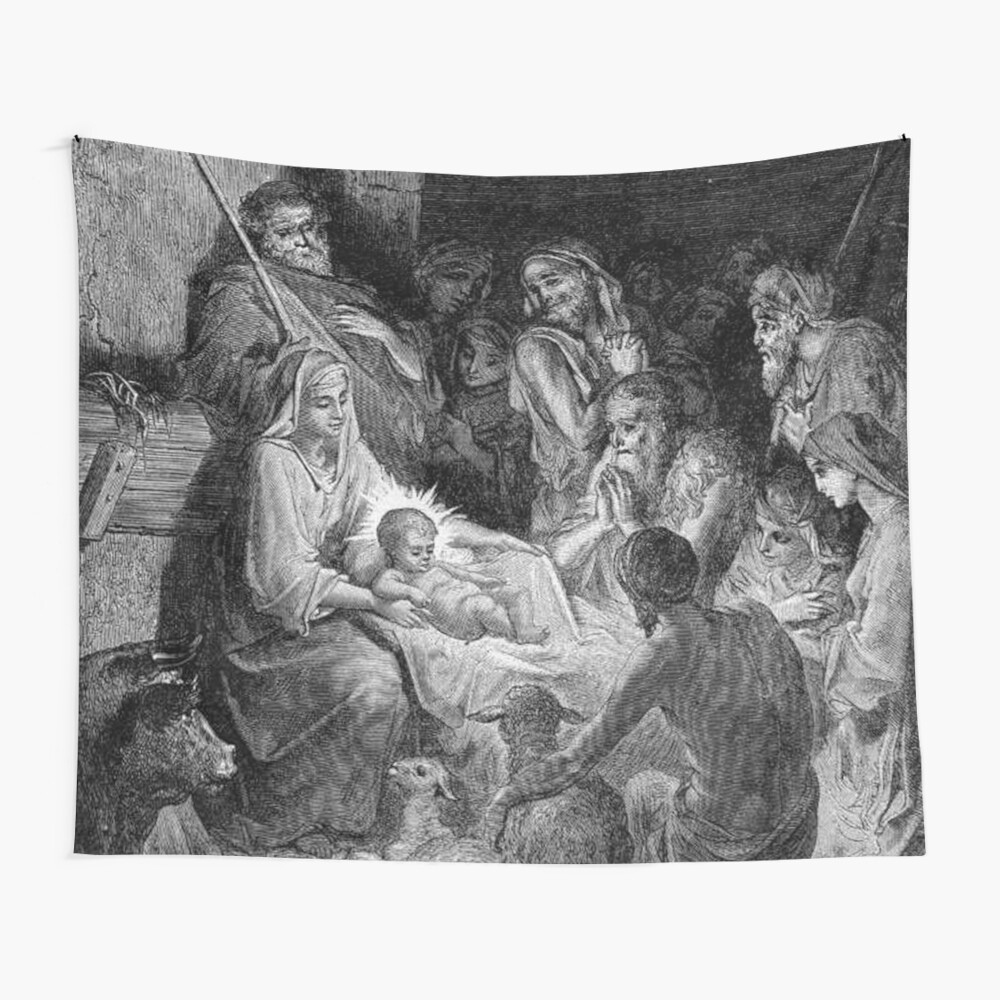 Gustave Dore Illustration Of The Nativity (View 11 of 20)