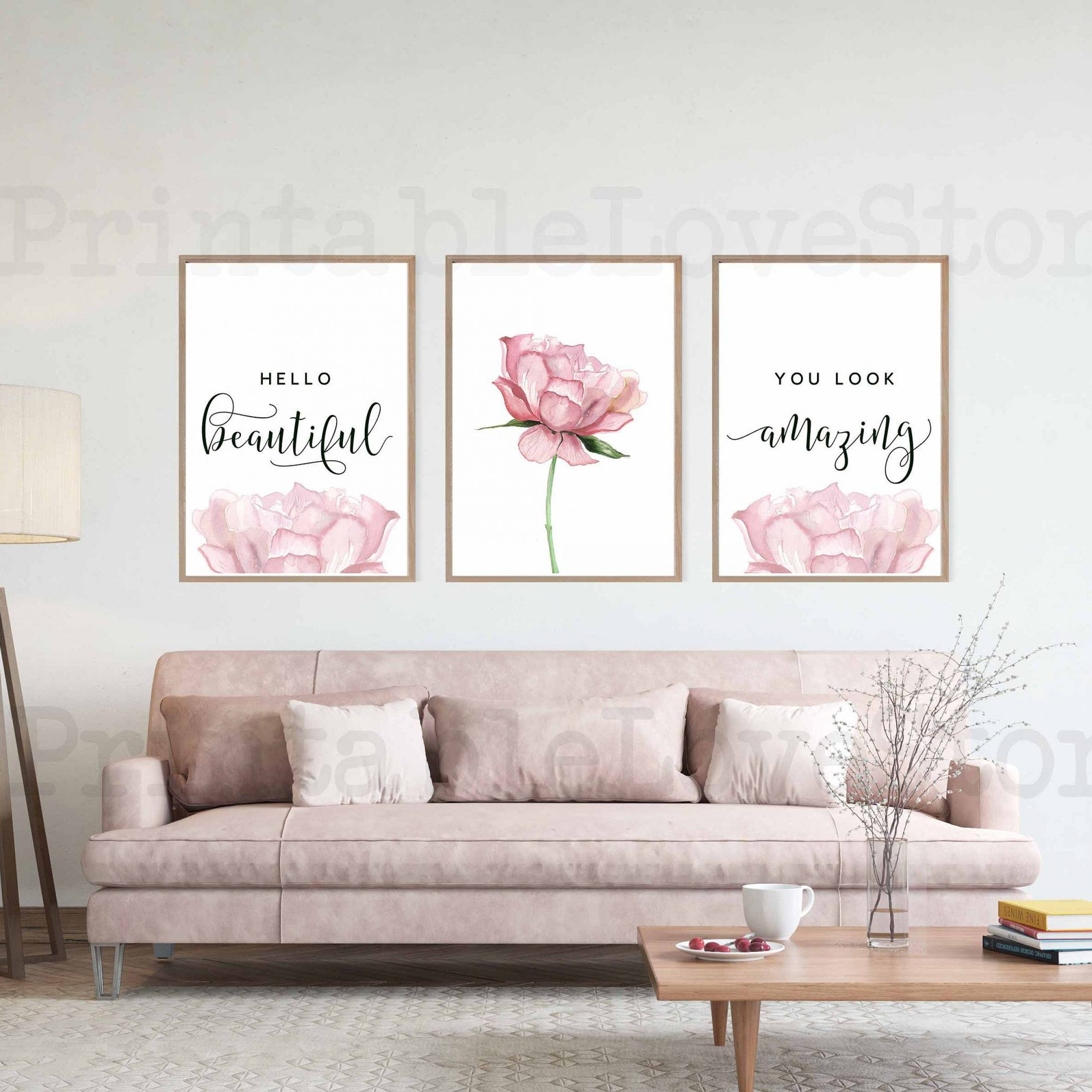 Featured Photo of Blended Fabric Hello Beauty-full Wall Hangings