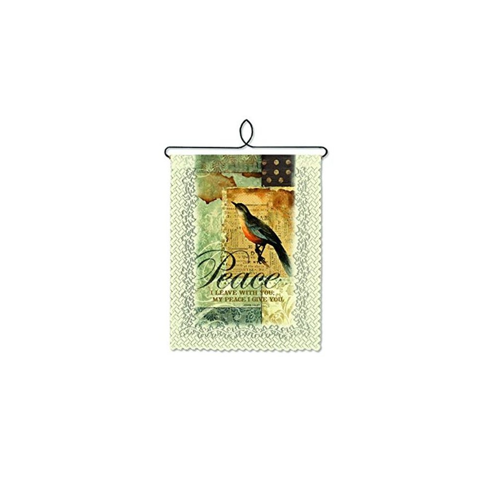 Heritage Lace Wh79c 0839 Peace I Give Wall Hanging – Cafe On Throughout 2018 Peace I Leave With You Wall Hangings (View 12 of 20)