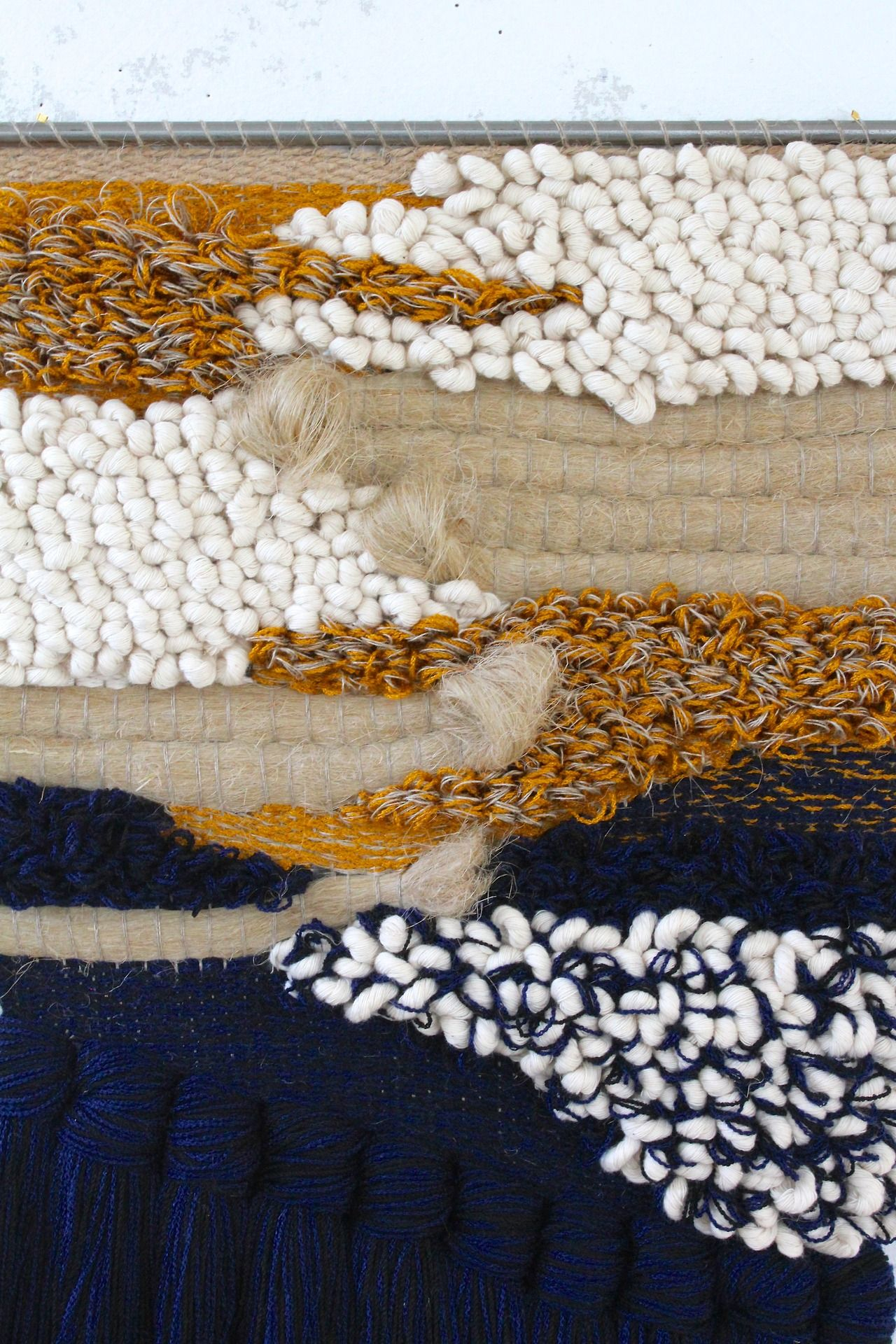 I Really Love The Textural Quality Of This Woven Material Regarding Most Current Blended Fabric Trust In The Lord Tapestries And Wall Hangings (View 2 of 20)