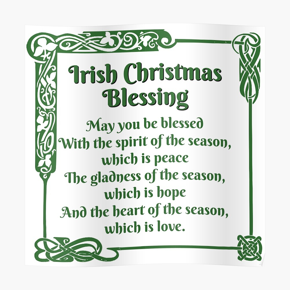 """Irish Christmas Blessing"""" Tapestryjennstuff 