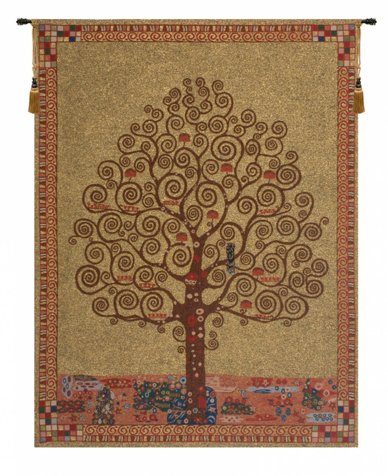 Featured Photo of Blended Fabric Pastel Tree of Life Wall Hangings