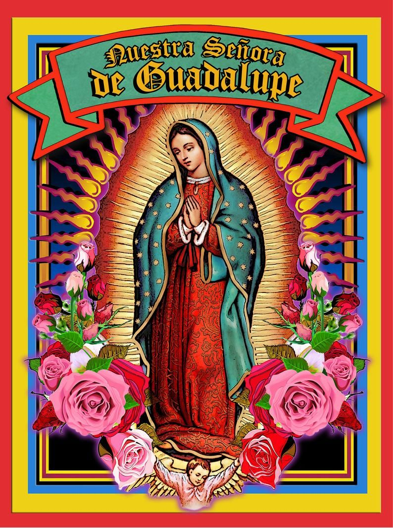 Lady Of Guadalupe Raglan Tshirt Virgin Mary Holy Card T Inside Latest Blended Fabric Our Lady Of Guadalupe Wall Hangings (View 2 of 20)