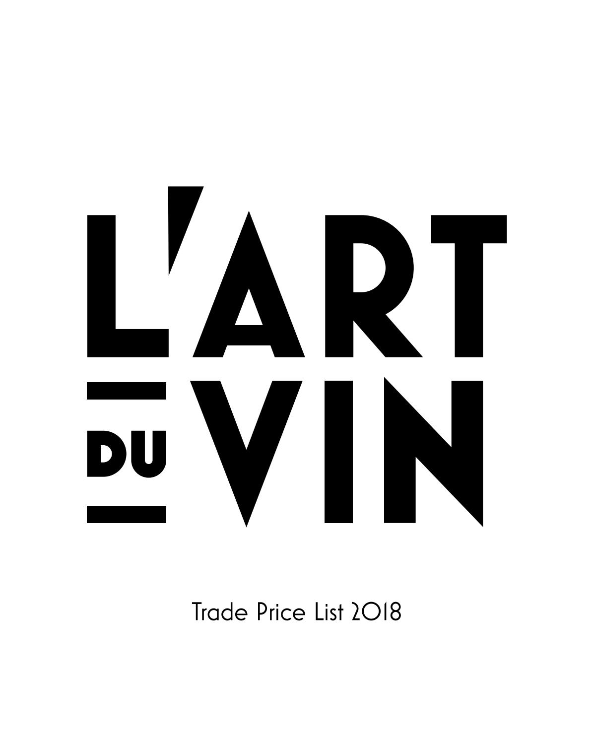 L'art Du Vin – Trade Price List 2018l'art Du Vin – Issuu For Best And Newest Blended Fabric Vendanges (red) Wall Hangings (View 8 of 20)