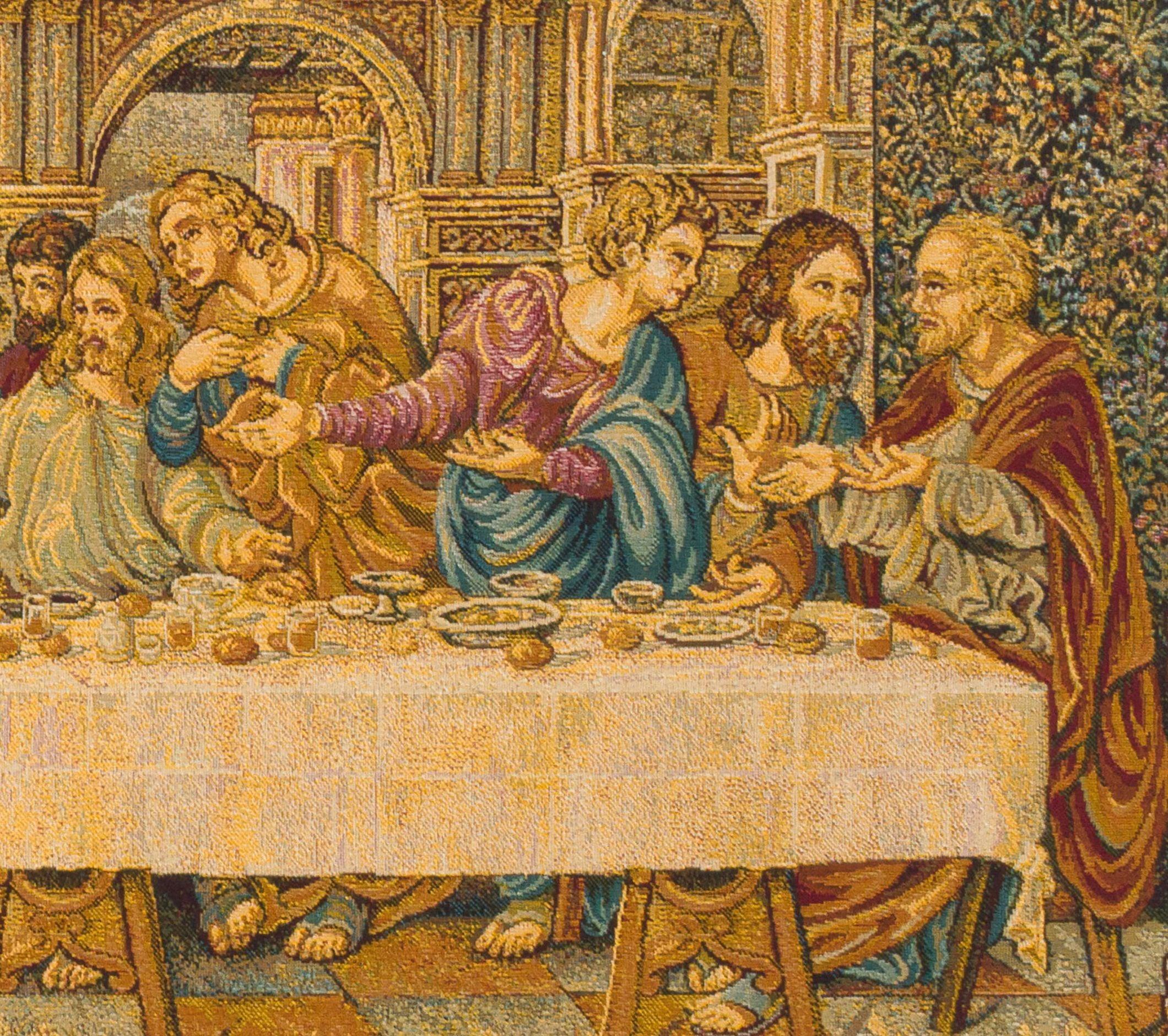 Last Supper Tapestry Wall Hanging Woven Leonardo Da Vinci In 2017 Blended Fabric Leonardo Davinci The Last Supper Wall Hangings (View 10 of 20)
