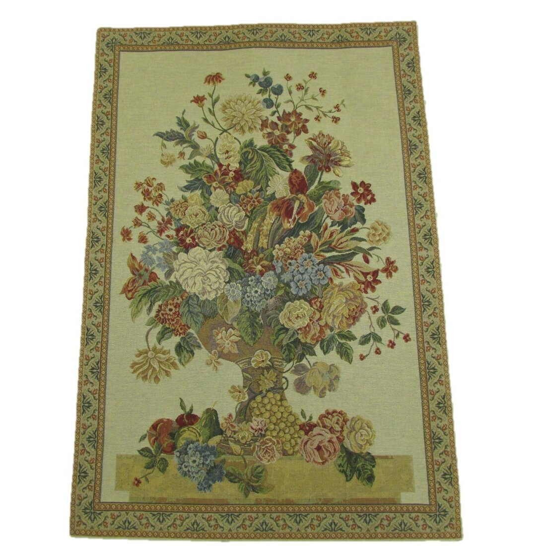 Majestic Bouquet Tapestry Within Most Current Blended Fabric Irises Tapestries (View 13 of 20)