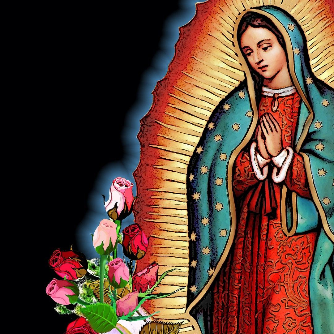 Modernmayaclothing Posted To Instagram: Our Lady Of For 2018 Blended Fabric Our Lady Of Guadalupe Wall Hangings (View 7 of 20)