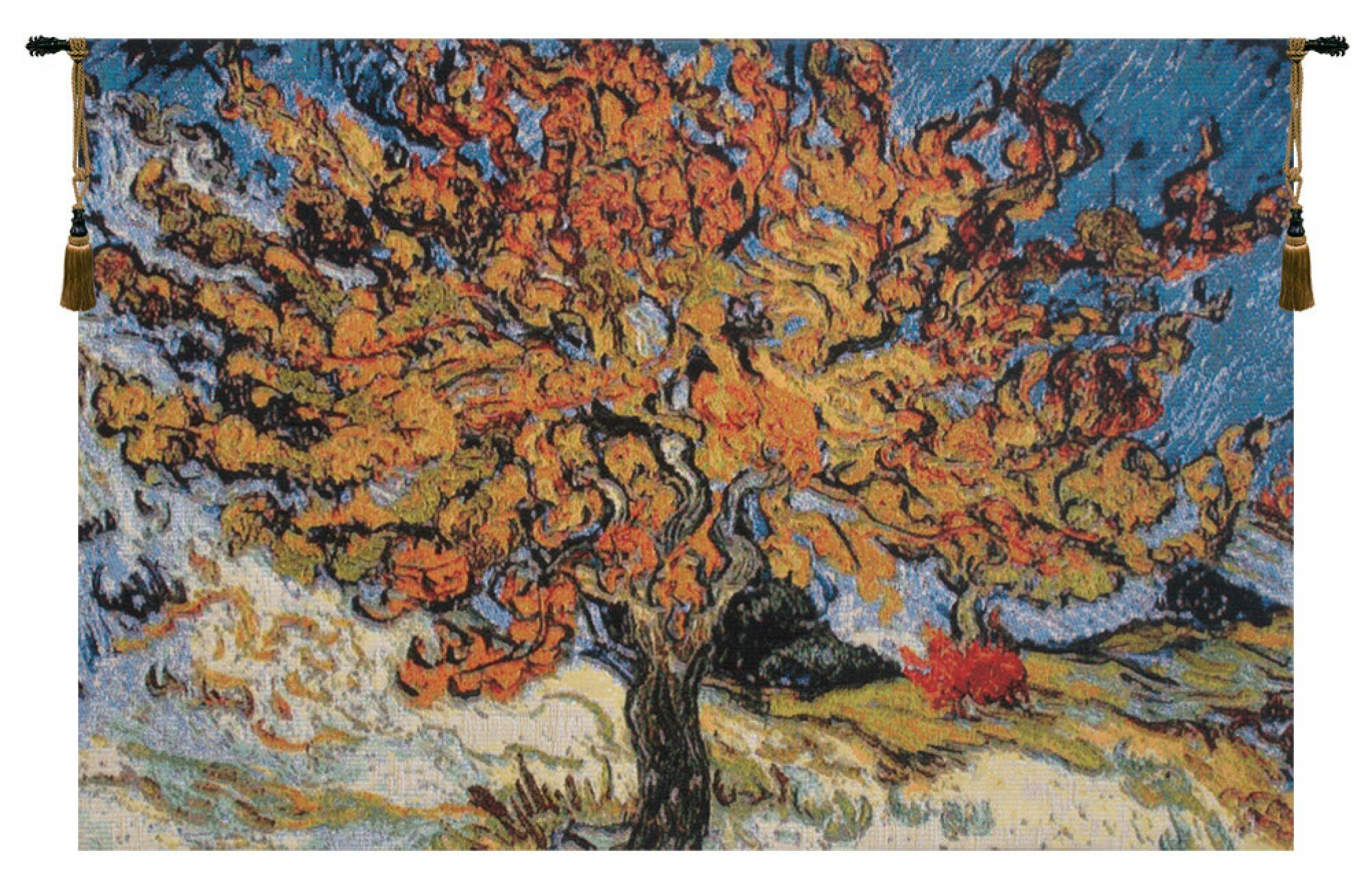 Featured Photo of Blended Fabric the Mulberry Tree – Van Gogh Wall Hangings