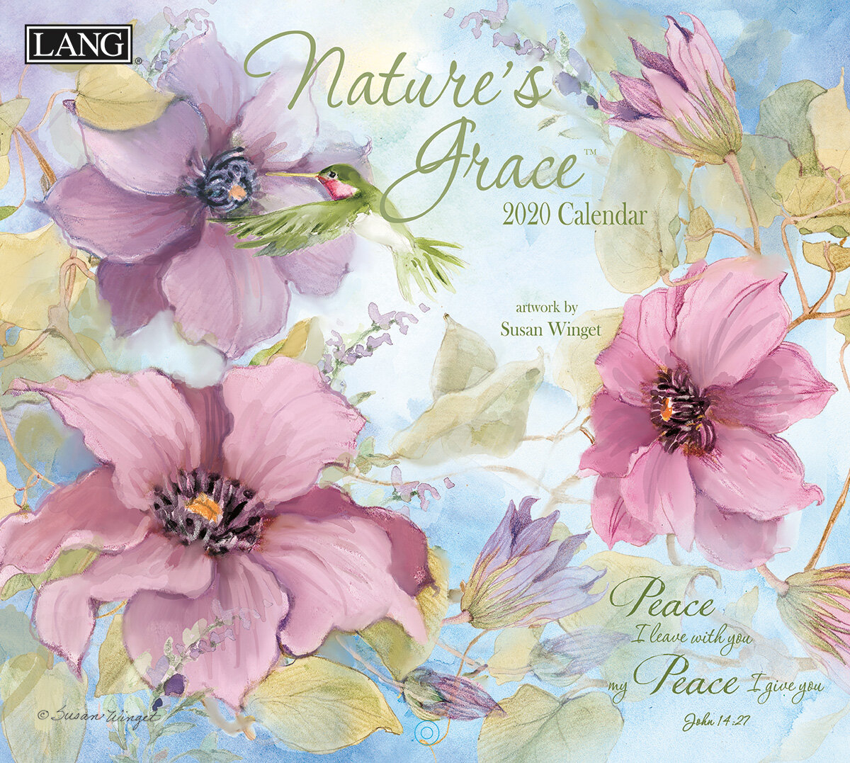 Nature's Grace 2020 Calendar Wall Décor In 2018 Peace I Leave With You Wall Hangings (View 16 of 20)