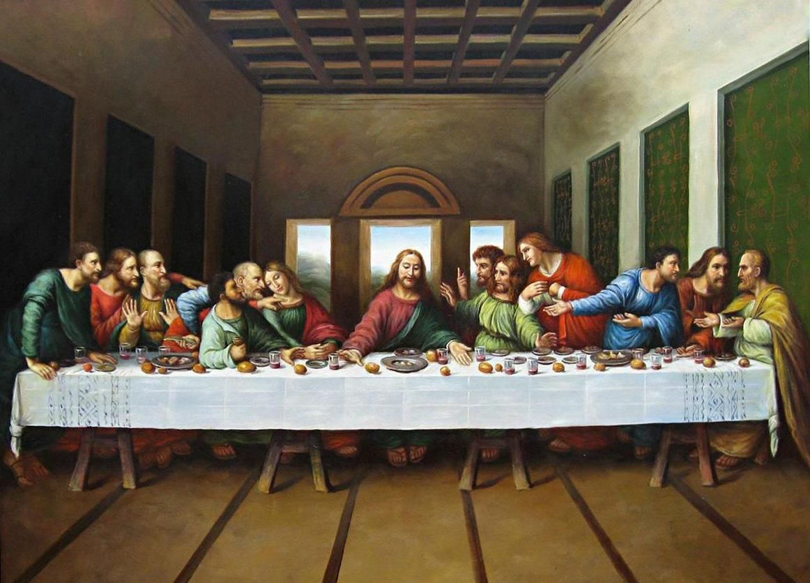 Original Picture Of The Last Supper Painting 50% Off   The Within 2017 Blended Fabric Leonardo Davinci The Last Supper Wall Hangings (View 11 of 20)