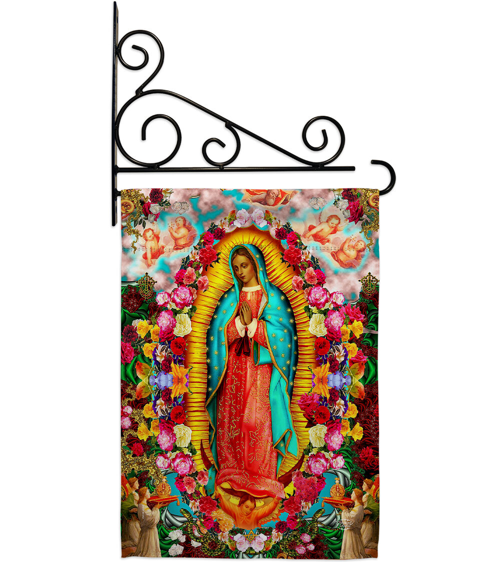 Our Lady Of Guadalupe 2 Sided Polyester/polyester Blend 18 X 13 In (View 8 of 20)