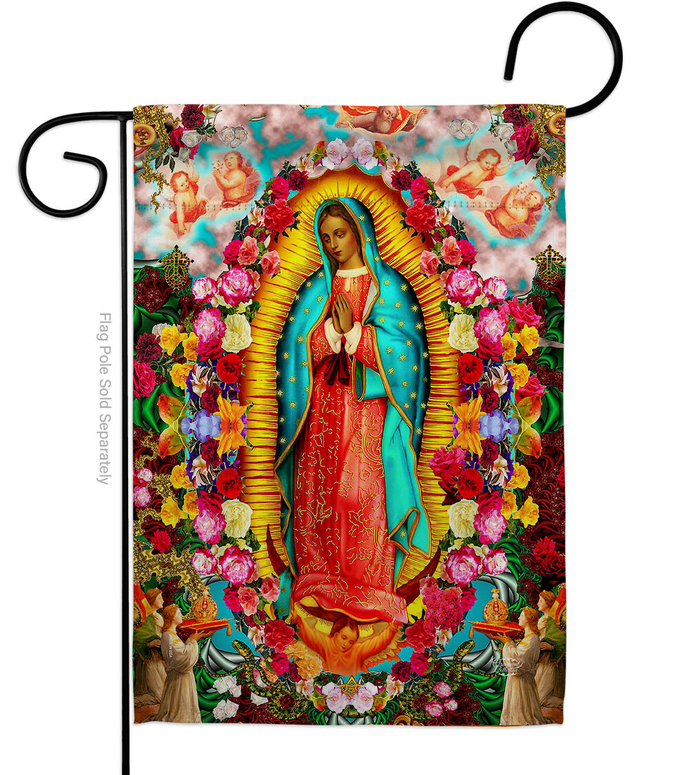 Featured Photo of Blended Fabric Our Lady of Guadalupe Wall Hangings