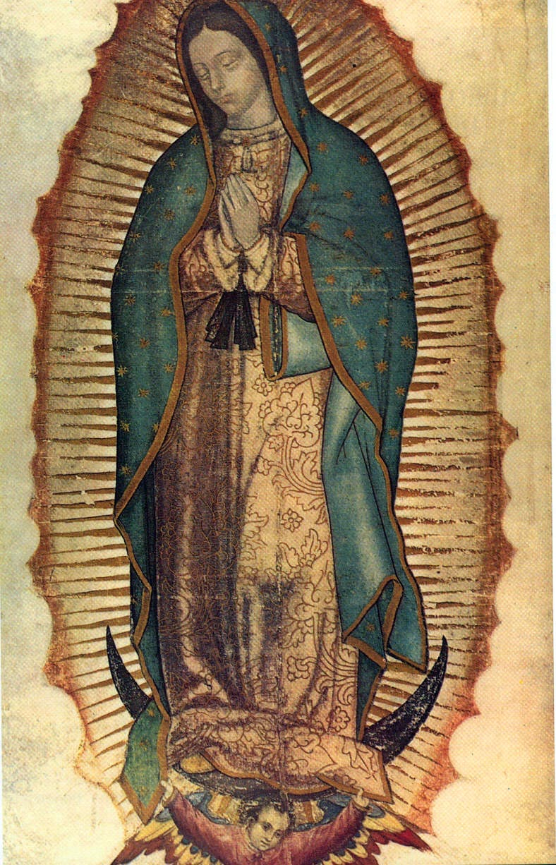 Our Lady Of Guadalupe – Wikipedia With Regard To Most Recent Blended Fabric Our Lady Of Guadalupe Wall Hangings (View 5 of 20)