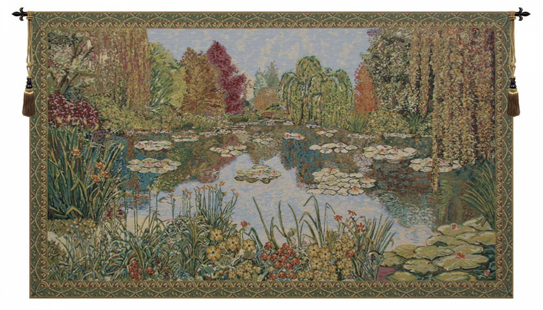 Parc De Monet Wall Hanging In 2018 Blended Fabric The Mulberry Tree – Van Gogh Wall Hangings (View 16 of 20)